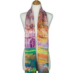 Cashmere Silk Scarf - Pacifica by VIDA VIDA 7c89TRyJ